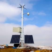 Wind Turbine 400W gerador de turbina de vento pequena, vento Solar sistema de monitoramento (MINI-5)