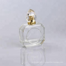 100ml empty glass perfume bottle design