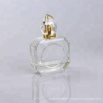100ml empty glass perfume bottle design