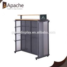 Fully stocked supplier sports equipment display rack