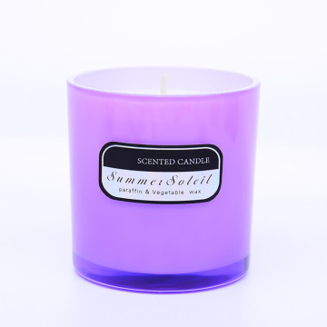 Cup Glass Fragrance Candle para mercados da UE