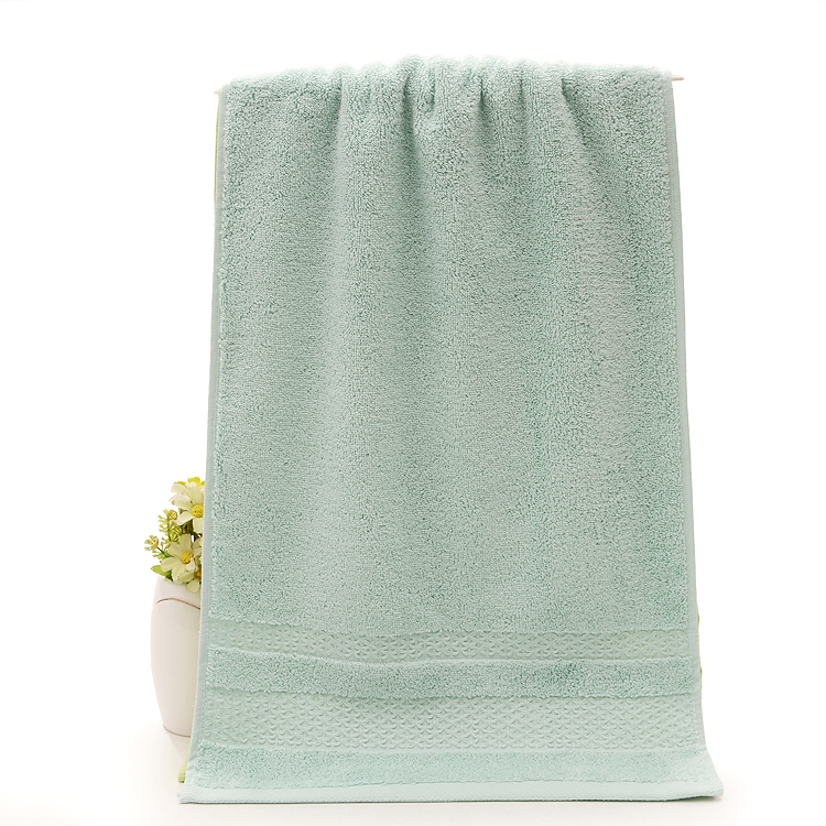 Aqua Towels made of Long-Staple Cotton