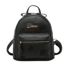 fantaisie mode lady girls noir sacs sacs à main d'école de haute qualité