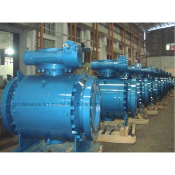 Gear Operated 3 PC Forged Trunnion Ball Valve (Q347F)