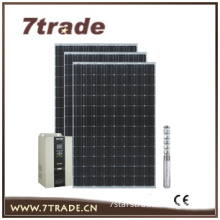 Three phase pump PV system without battery