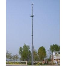 Pólos de aço galvanizados de alta telecomunicação