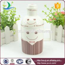 Wholesale brown ceramic beer cup