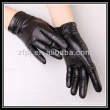Cuero del sexo de 2012 guantes de las muchachas de la manera
