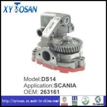 Bomba de óleo para Scania Ds14 263161 (TODOS OS MODELOS)