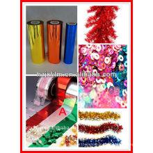 Film décoratif coloré PET paillettes / sequins