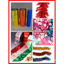Decorative Colorful PET glitter/sequins film