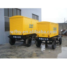 120KW Trailer Generator powered by Cummins engine