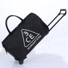"""Trolley Bag Luggage 22"""" 8 Pocket Wheeling Duffel Bag"""