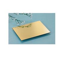3 / 4mm Gold Spiegel ACM Platte / ACP Blatt Preis / Acm / ACP