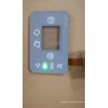 botão de pressão à prova d 'água LED interruptor de botão tátil de membrana
