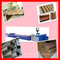 best selling wpc garden decking profile production line
