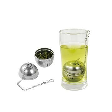 boule à thé en acier inoxydable