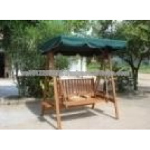 Acacia Massivholz Outdoor / Garten Möbel Set - Hängematte Schaukel