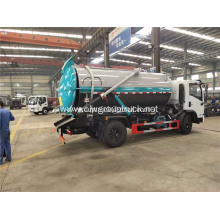 Best price 4x2 sewage suction tanker truck