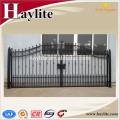 High quality sliding driveway decorative ornamental Wrought Iron Gate