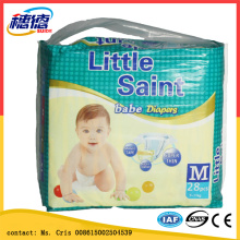 Soft Care Non Woven Fabric and Soft Breathable Absorption Baby Diapers