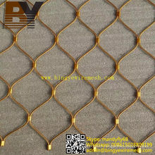 Flexible X-Tend Stainless Steel Cable Mesh for Stairs Balustrades
