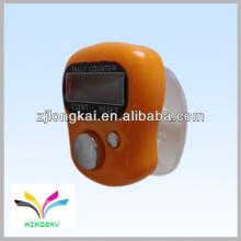 2013 fasional Promotion Geschenk orange Musselin elektronischen digitalen Finger manuelle muslimischen Zähler Zähler