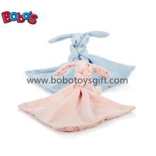 Мягкая плюшевая игрушечная игрушка кролика с одеялом Blankie с CE Bosw1019-1020