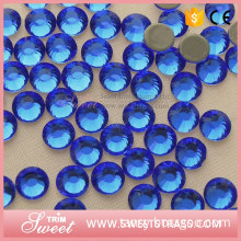 crystal AB color round hotfix rhinestones for clothes