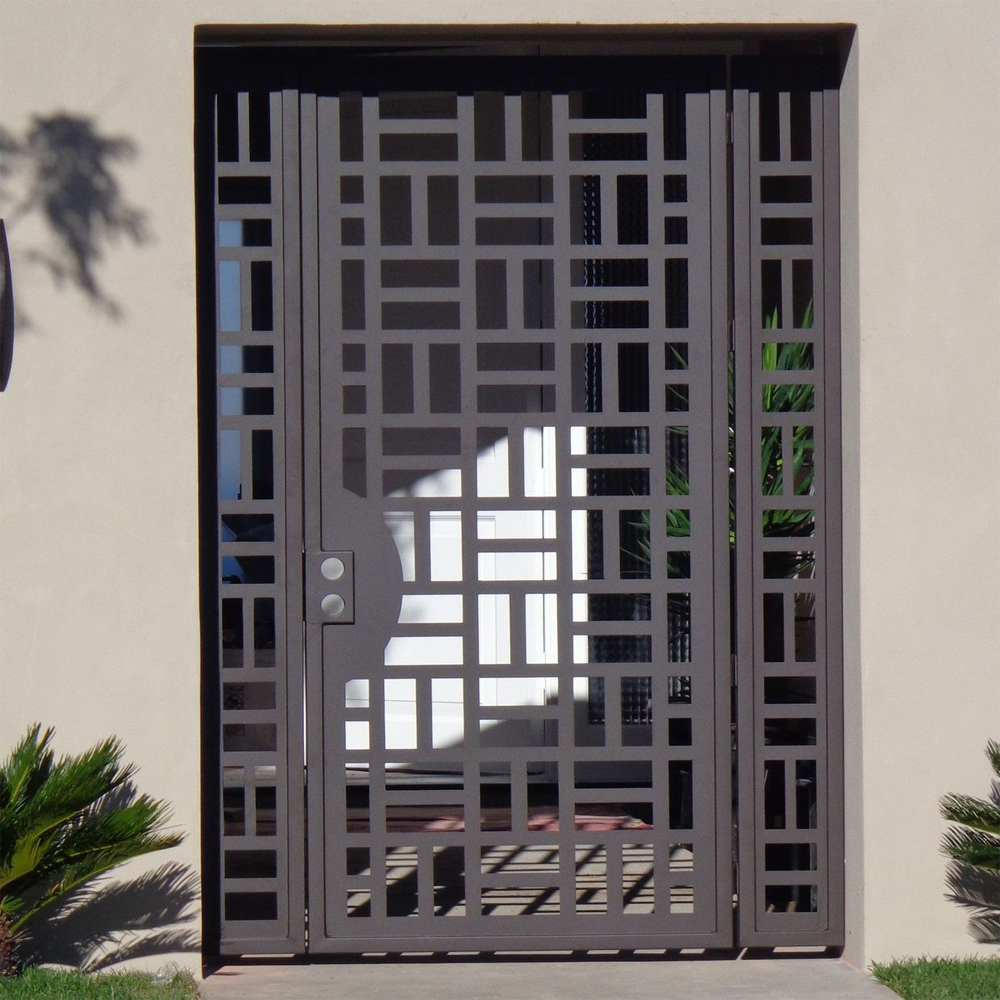 Mild Steel Laser Cut Gates and Fencing