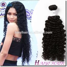 Barato Preço de Atacado 100 humano Malaio de alta qualidade transporte rápido Encaracolado cabelo Malaio Virgem