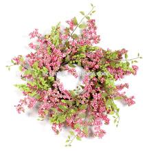 """Decoración Flora Corona de Bayas 20 """"/ 15"""" Corona de Primavera en Pastel"""