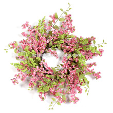 "Flora Decor Berry Wreath 20""/15"" Pastel Spring Wreath"