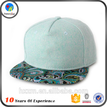 Acrylic Fabric Snap Back hat