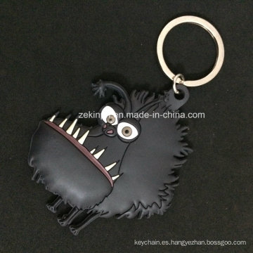Cartoon Animal 3D PVC Keychain for Souvenir / Regalos promocionales