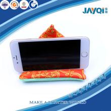 Microfibre personnalisées Bean Bag téléphone portable Stand