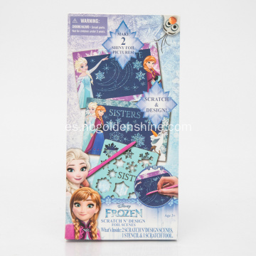 Frozen Foil Holographic Magic Scratch