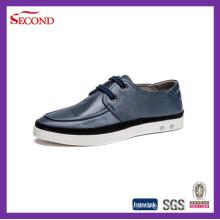 Último calçado de couro masculino superior