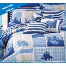 Kinderbettwäsche Dragon Theme Bedrucktes Polyester-Bettlaken-Set