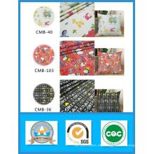 100% Baumwolle Printed Cartoon Canvas Stoff auf Lager für Taschen und Schuhe Gewicht 180GSM Breite 150cm