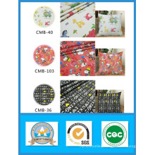 100% Cotton Printed Cartoon Canvas Fabric in Stock for Bags and Shoes Weight 180GSM Width 150cm