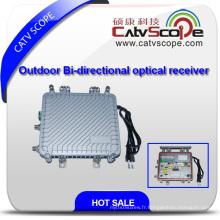Récepteur optique bi-directionnel extérieur à 2 voies avec AGC Csp-1012