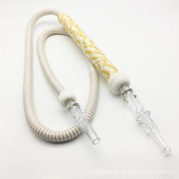 1.8m weiße Farbe Acryl Shisha Shisha Narghile Schlauch Werkzeuge (ES-HH-008)