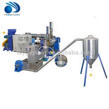 machine de granulation de film de pe pp / ligne de pelletisation de film plastique / machine de fabrication de granule