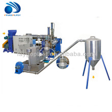 pp pe film granulating machine/plastic film pelletizing line/pellet making machine