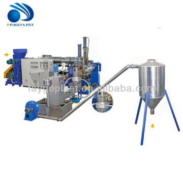 pp pe film granulating machine/plastic film pelletizing line/pellet making machine