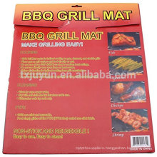 "Premium Non-stick & Reusable BBQ Grill Mat /Grilling Sheet - PFOA-FREE PTFE 13""x15.75"" set of 2"