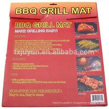 "Premium Non-stick & Reusable BBQ Grill Mat /Grilling Sheet - PFOA-FREE PTFE 13""x15.75"" set of 2"