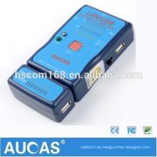 4 en 1 UTP lan cable tracker / rj45 probador de cable