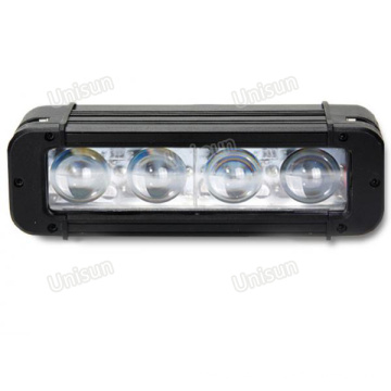 """Refletor LED CREE de 8 """"à prova d'água 40 W de uma linha"""